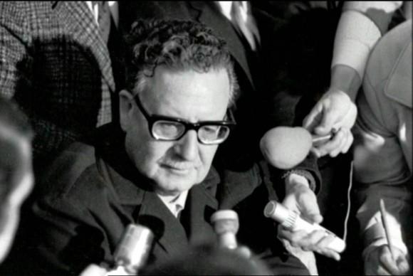 Foto: Alamy. El ex presidente de Chile Salvador Allende.