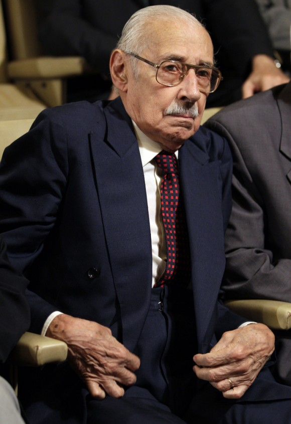 El ex jefe de la dictadura militar de Argentina Jorge Rafael Videla.