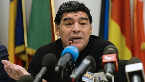 Diego Armando Maradona. FOTO: AFP
