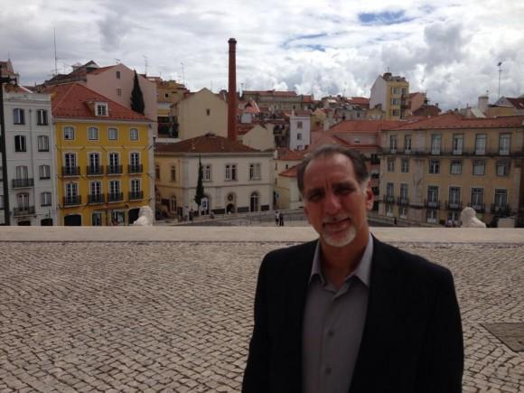 René González en Portugal.