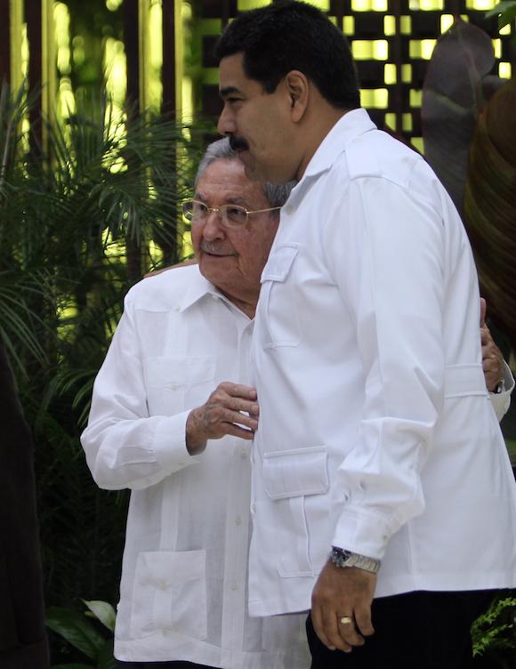 Recibe Raul Castro de Jefes de Estado participantes en Cumbre Alba TCP sobre el Ebola. Foto: Ismael Francisco/Cubadebate.