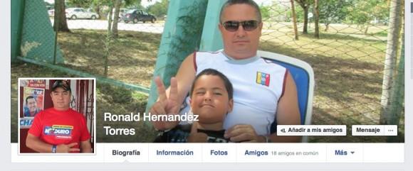 Cabezal de la página de Facebook de Ronald, el médico cubano en Liberia.
