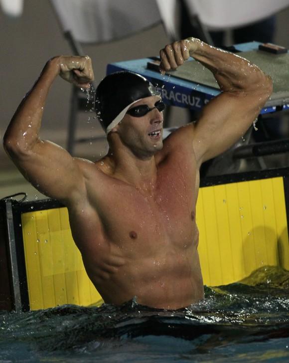 Hansser Garcia, ganó medalla de Oro en los 100 metros libres de natacion. Foto: Ismael Francisco/Cubadebate