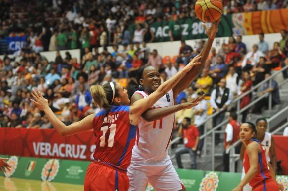 Cuba Campeona centrocaribeña de Baloncesto Femenino. Foto: Ismael Francisco / Cubadebate