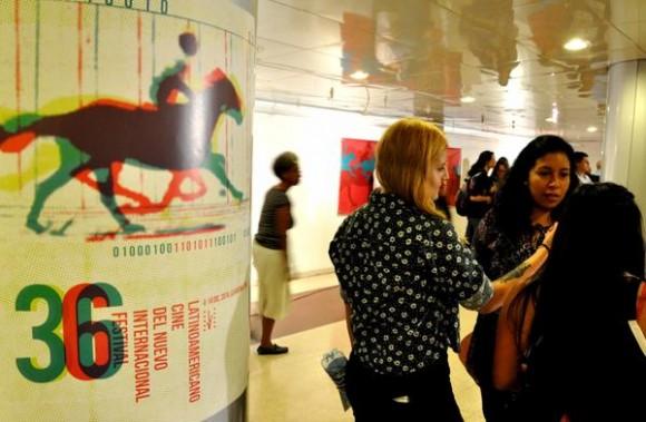 Inauguración del XXXVI Festival Internacional del Nuevo Cine Latinoamericano, en el teatro Karl Marx, en La Habana, el 4 de diciembre de 2014. AIN FOTO/Marcelino VAZQUEZ HERNANDEZ/rrcc