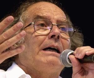 Adolfo Pérez Esquivel está en Panamá.