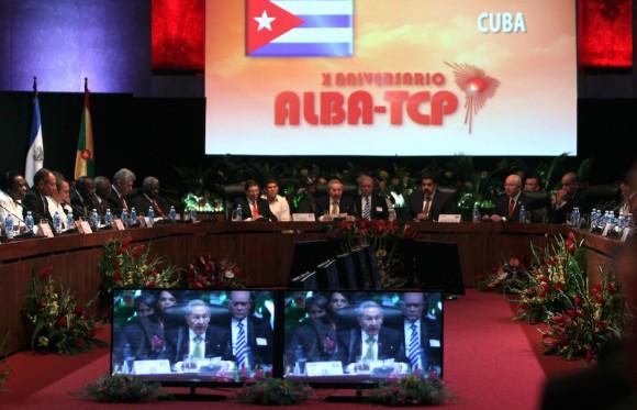 Inauguración de la XIII Cumbre del ALBA-TCP, La Habana, Foto: Ismael Francisco/ Cubadebate.