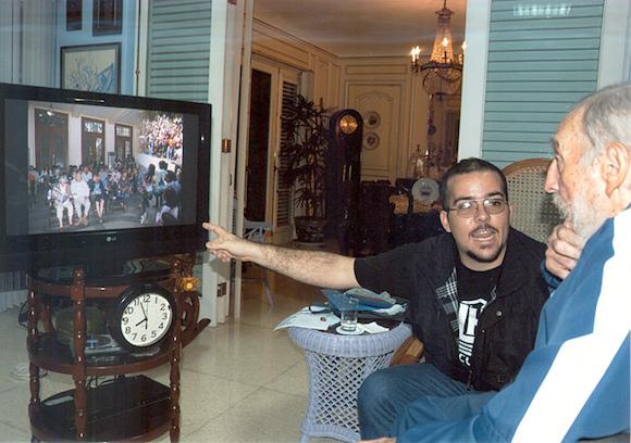 Encuentro de Fidel Castro con Randy Perdomo1234