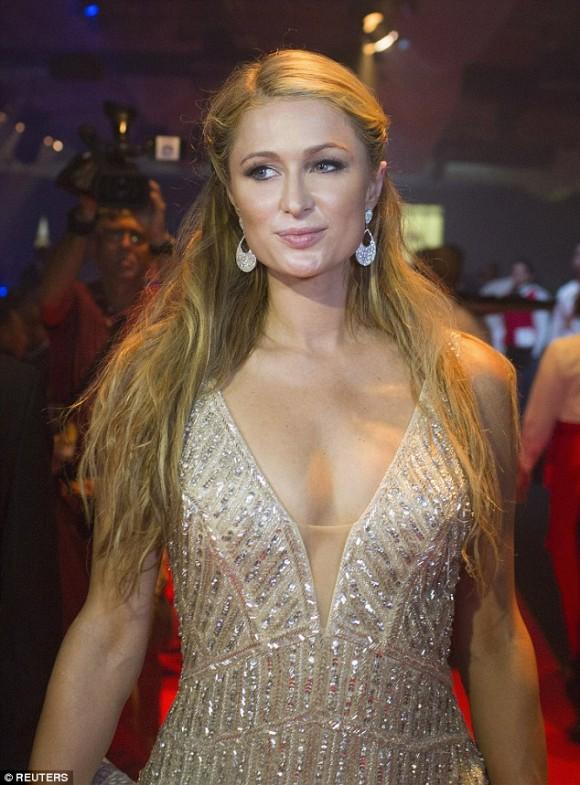 Paris Hilton en La Habana. Foto: Daily Mail.