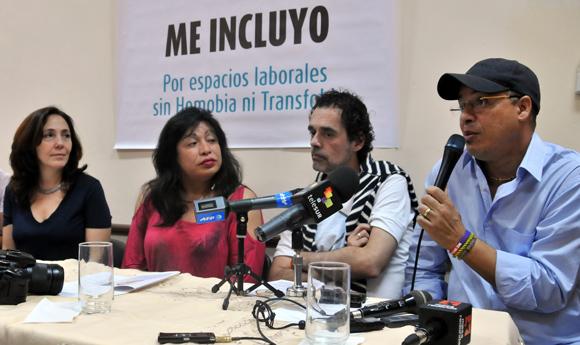 Inauguración de la 8va Jornada Cubana contra la Homofobia y la Transfobia. Foto: Ladyrene Pérez/ Cubadebate.