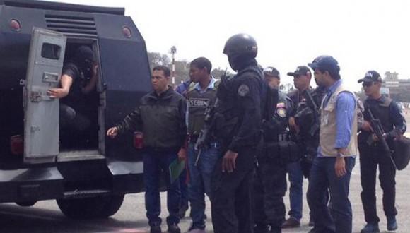 """Así llegó """"El Colombia"""" a Venezuela / Foto publicada en la cuenta en Twitter del  Ministerio para Relaciones Interiores, Justicia y Paz de Venezuela"""