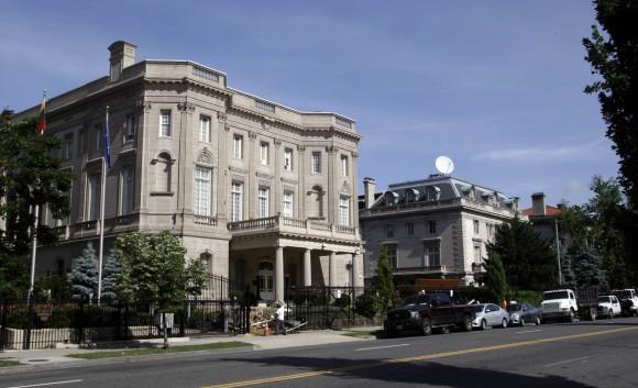La futura Embajada de Cuba en Washington. Foto: Ismael Francisco/ Cubadebate