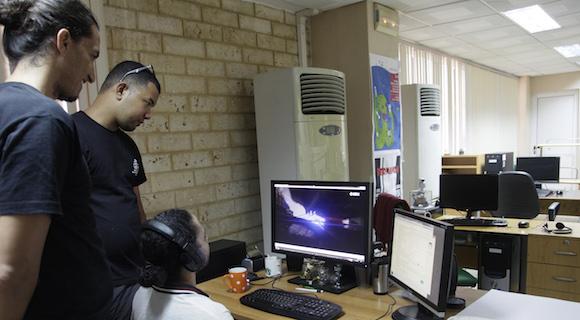 Primeros videojuegos producidos por los Estudios de Animación del ICAIC, en asociación con la UCI. Foto: Ismael Francisco/Cubadebate