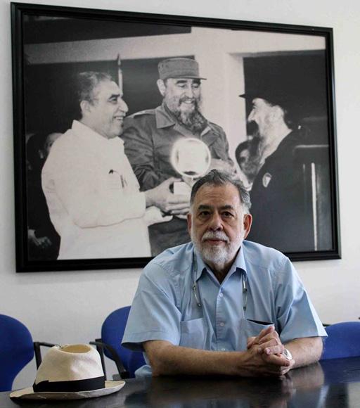 Coppola estará dos días en la Escuela de Cine. Foto: Alba León Infante