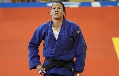Estefanía García ganó en la división de los 63 kilogramos del judo.