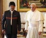 Papa Francisco y Evo Morales en Bolivia