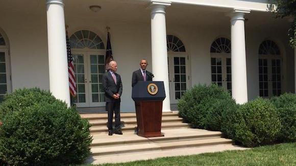 Barack Obama y Biden. Foto: Casa Blanca