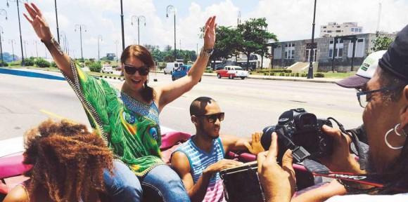 Luego de seis años de su primera visita a La Habana, donde participó del concierto Paz sin fronteras, la cantante regresa a la vecina isla.