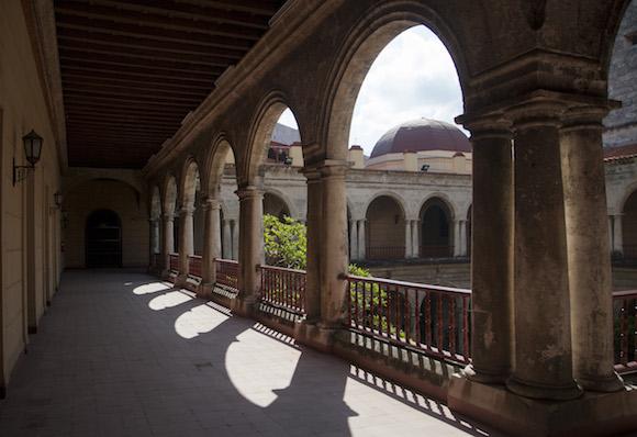 Desde el primer piso del Centro Cultural Félix Varela. Foto: Ismael Francisco/ Cubadebate