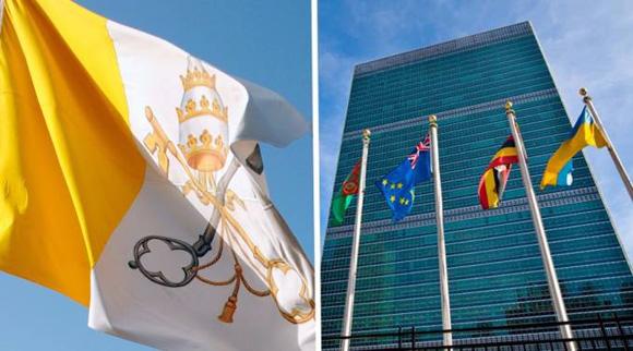 Por vez primera izarán bandera del Vaticano en la ONU