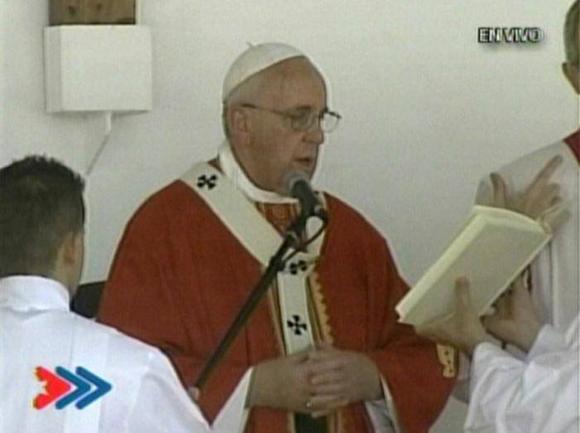 Papa-Homilía