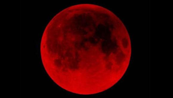 Súper Luna y eclipse total.