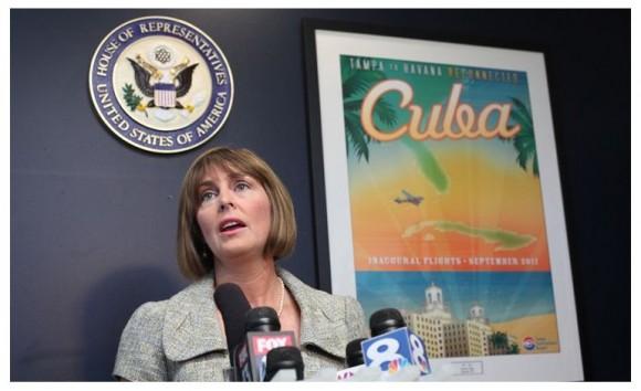 La congresista Demócrata Kathy Castor es defensora de las relaciones normales entre Cuba y EE.UU.