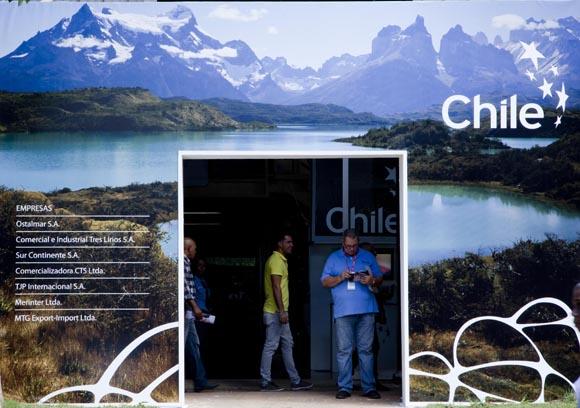 Pabellón de Chile. Foto: Ismael Francisco/Cubadebate