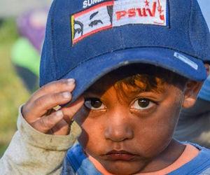 Niño venezolano. Foto: Kaloian