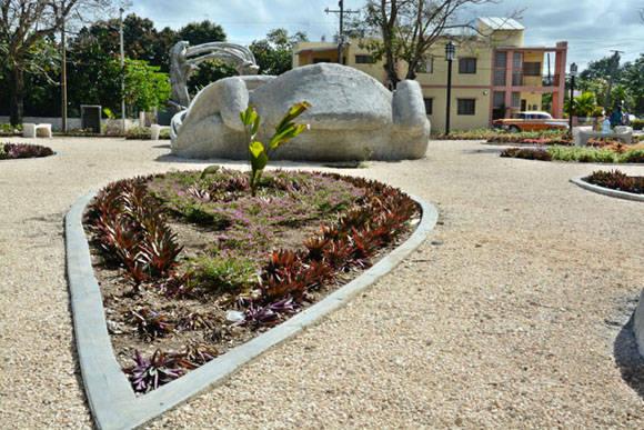 El Parque de los Tiempos, conjunto escultórico inspirado en la obra del Maestro Cosme Proenza. Foto: Juan Pablo Carreras/ACN
