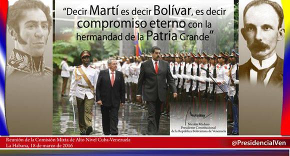 Maduro en Cuba