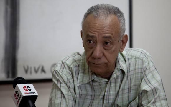 Fernando Martínez Heredia en Cubadebate. Foto: Ismael Francisco/ Cubadebate