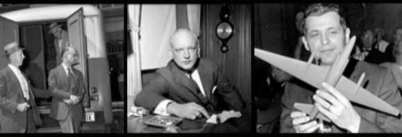 Rudolf Abel, James Donovan y F. Gary Powers.