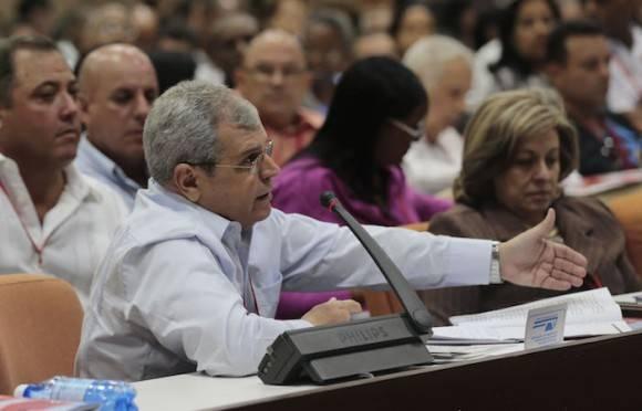 El delegado Homero Acosta. Foto: Ismael Francisco/ Cubadebate