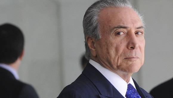 El nuevo presidente interino de Brasil fue informante de Estados Unidos, asegura WikiLeaks. Foto: Archivo.
