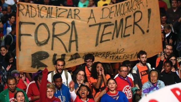fora temer brasil