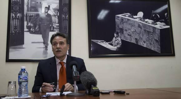 """""""Podemos afirmar que se han obtenido resultados"""": Gustavo Machín Gómez. Foto: Ismael Francisco/ Cubadebate"""