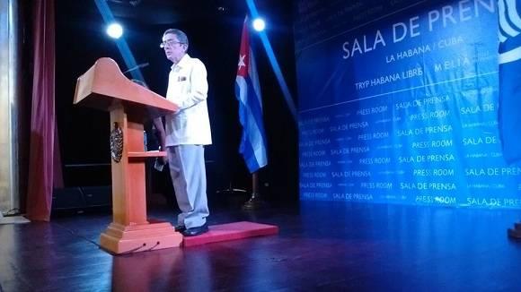 José Chaple Hernández, director de Política Comercial para América Latina y el Caribe del Ministerio de Comercio Exterior y la Inversión Extranjera de Cuba. Foto: Ismael FranciscoCubadebate.