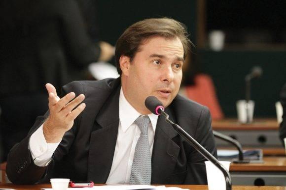 Rodrigo Maia. Foto tomada de poderonline.ig.com.br