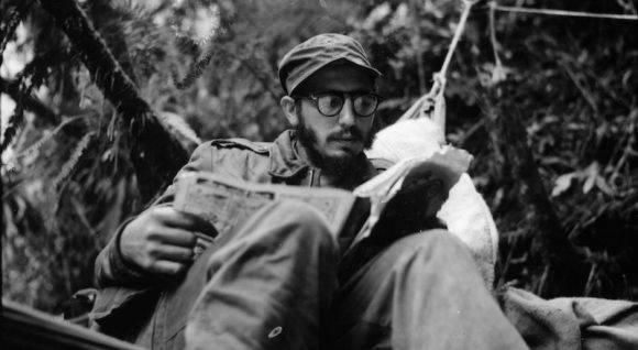 Fidel en la Sierra Maestra.