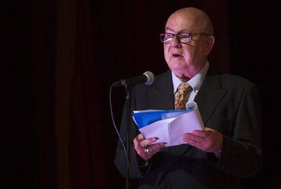 Miguel Barnet, Presidente de la UNEAC. Foto: Ladyrene Pérez/ Cubadebate.