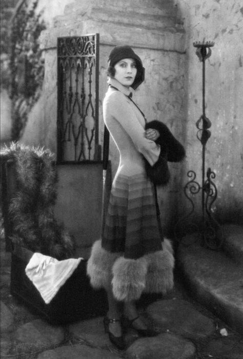 """Greta Garbo en una imagen de la película """"Torrent"""", estrenada en los cines ese año."""