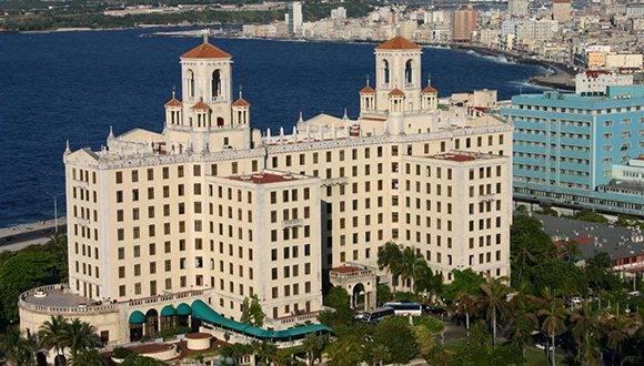 Hotel Nacional de Cuba. Foto tomada de Cuba Travel.