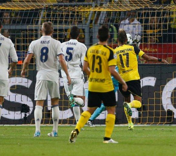 Real Madrid vs Borussia Dortmund en la Champions League (3)