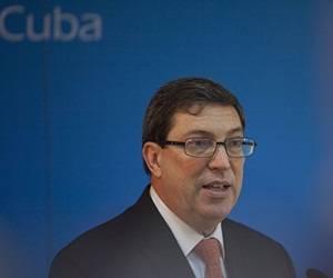 Bruno Rodriguez, Ministro de Relaciones Exteriores de Cuba. Foto: Ismael Francisco/Cubadebate.
