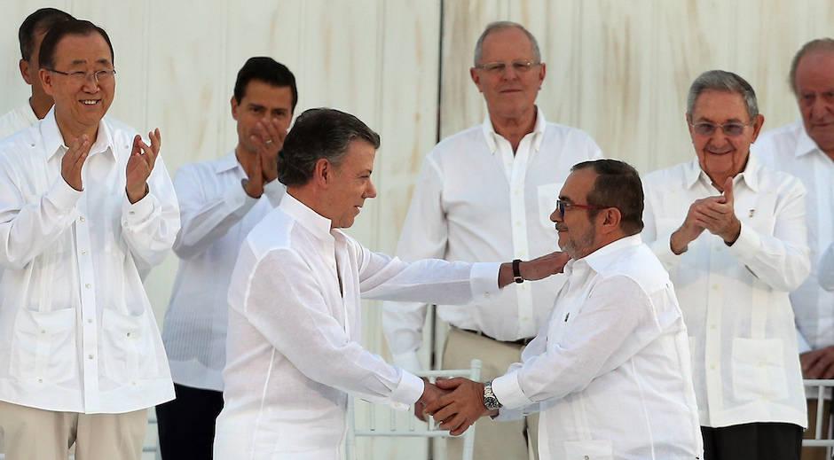 Colombia: ¡Y se  hizo la paz!