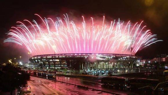 El Estadio de Maracaná durante la ceremonia de clausura de los Juegos Olímpicos de Río 2016. Foto: Reuters