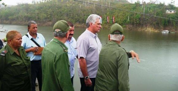Resultado de imagen para Díaz-Canel en Baracoa y Maisí chequea labores de recuperación