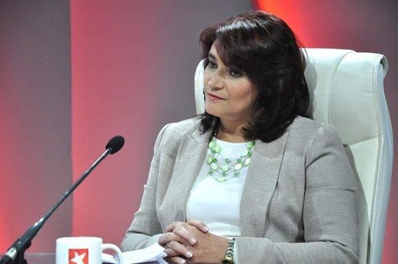 Directora General de la Zona Especial del Desarrollo, Ana Teresa Igarza. Foto: Roberto Garaycoa/ Cubadebate.