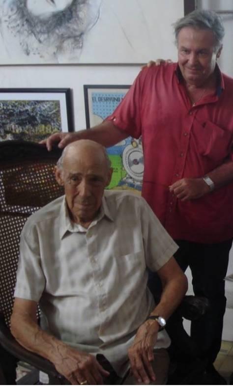 Reynaldo Miravalles y José María Vitier.